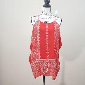 C CLOTHING Cold Shoulder Top Size XL